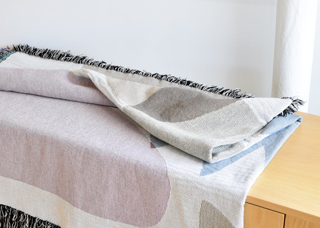 The Holloway Throw from Slowdown Studio by artist Hanna Konola.