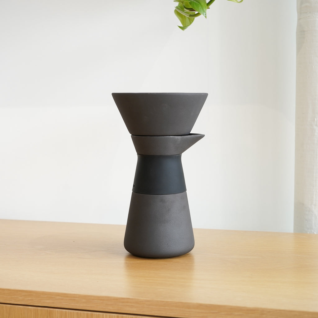 The Theo Coffee Maker from Danish design brand Stelton.