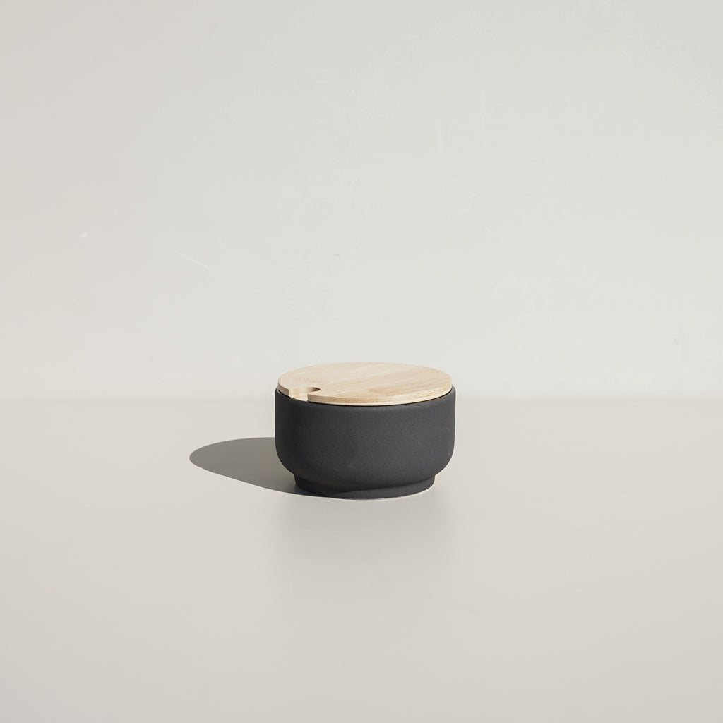 From Stelton, the Theo Sugar Bowl.