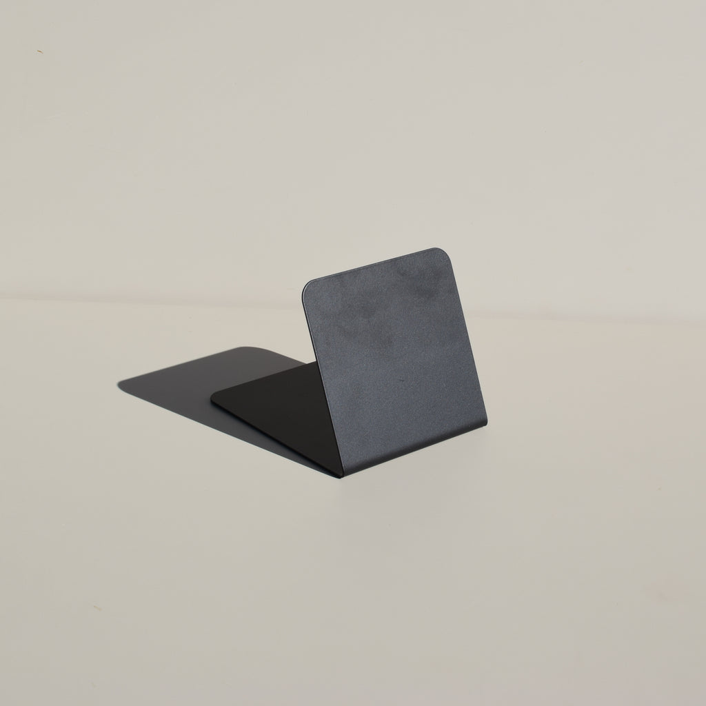 Angled Bookend (Matte Black)