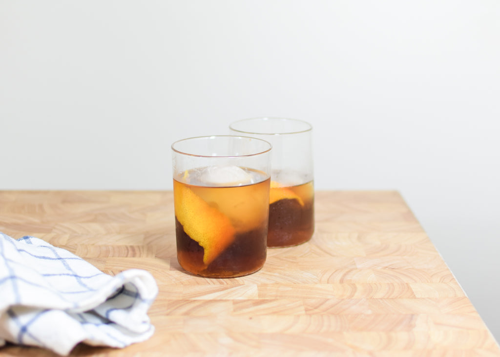 Tapered Drinking Glasses