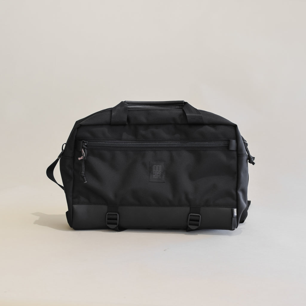 Commuter Briefcase (Ballistic Black/Leather)