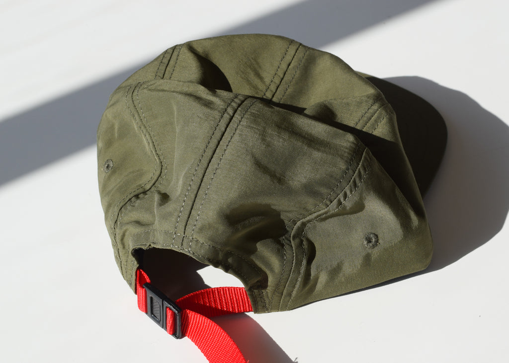Nylon Camp Hat (Olive)