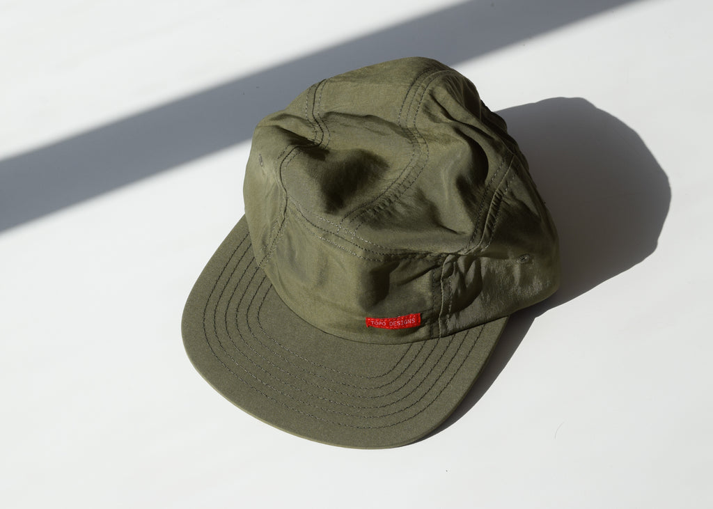Topo Designs - Nylon Camp Hat (Olive)