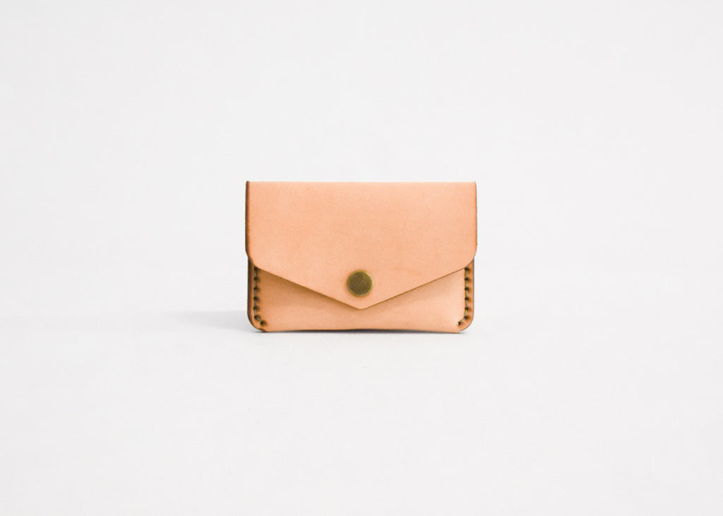 Winter Session Snap Wallet in natural.