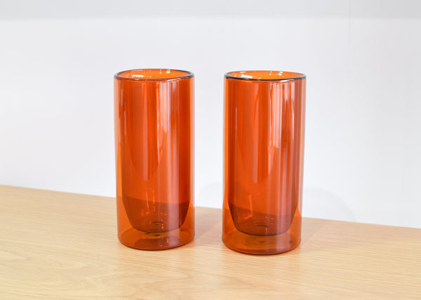 Double-Wall 16oz Glasses (Amber)