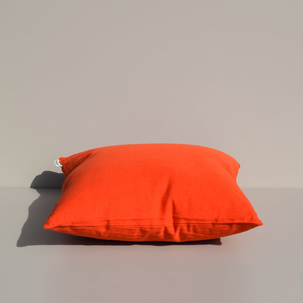 Ripe Tomato Linen Pillow