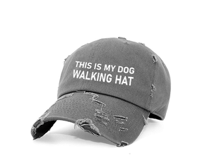 This is my Dog Walking Hat