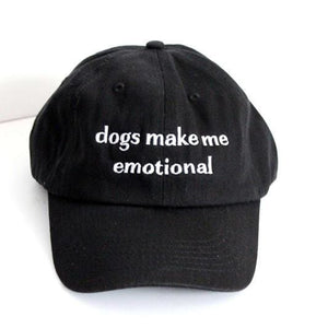 Dog Make Me Emotional Classic Hat