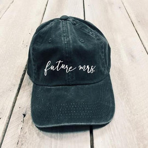Future Mrs. Classic Charcoal Hat
