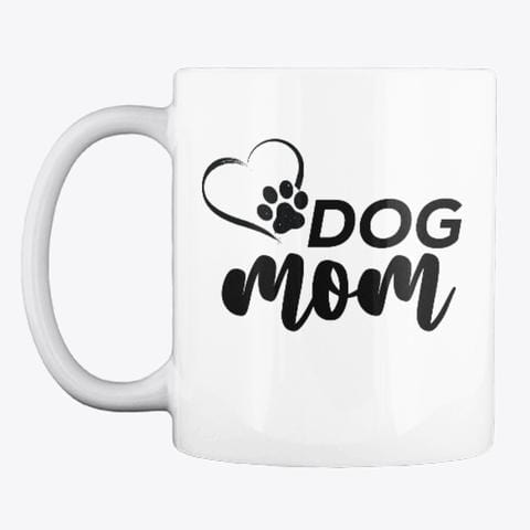 Dog Mom Paws Classic Mug