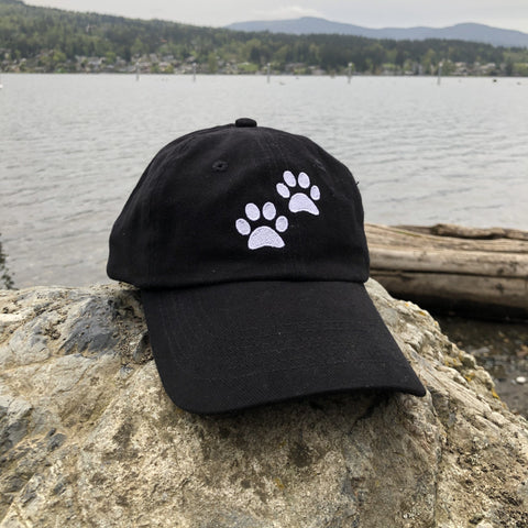 Paws Lover Classic Black Hat
