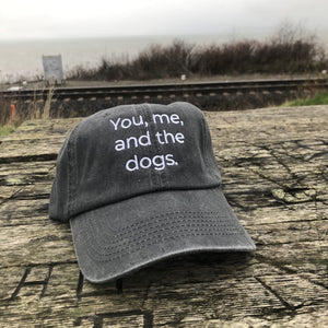 You, Me and The Dog Classic Charcoal Hat