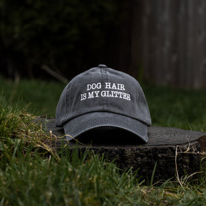 Dog Hair is Glitter Classic Charcoal Hat