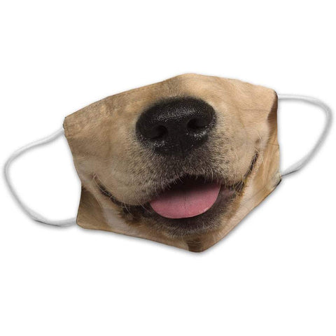 Labrador Dog Face Mask