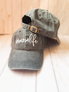 Mom Life Classic Charcoal Hat