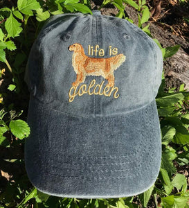 Life is Golden Classic Charcoal Hat