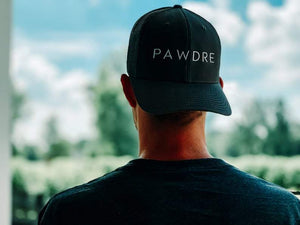 Pawdre Classic Meshback Black Hat