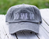 Bad Hair Day Distressed Classic Hat