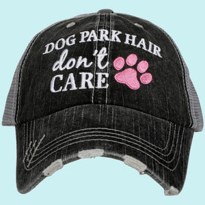 Dog Park Hair Meshback Grey/Black Hat