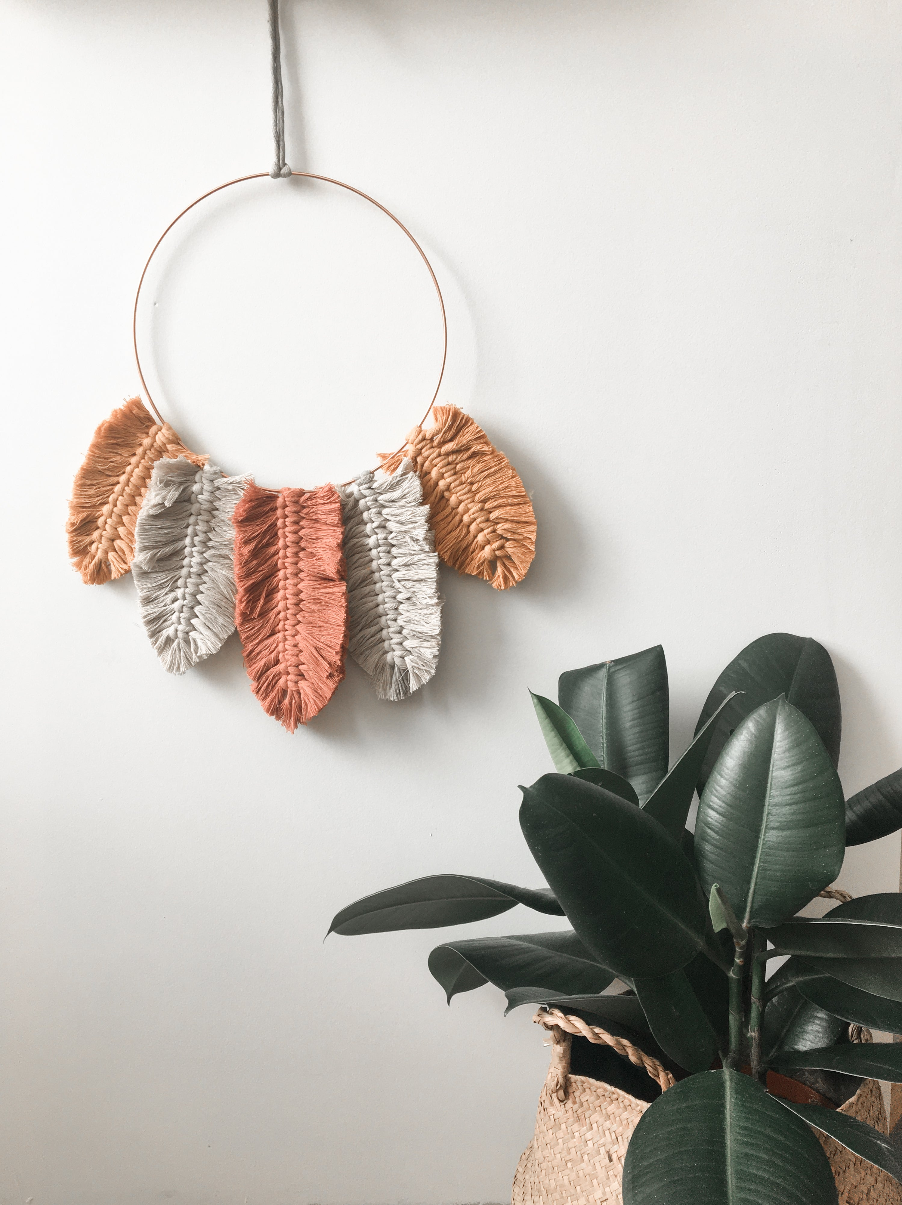DIY-pakket: BOHO wallhanging