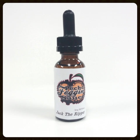 Peche Foggin Sauce Jack the Ripper Eliquid