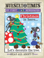 Crinkly Christmas is here newspaper