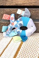 Mary Meyer taggies sleepy seas rattle