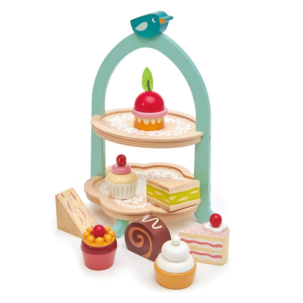 Tenderleaf toys birdie afternoon tea set