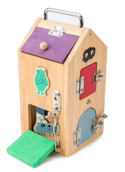 Tenderleaf Toys monster lock box