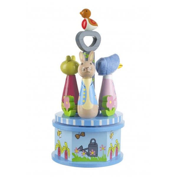 Orange tree toys Peter rabbit musical carousel
