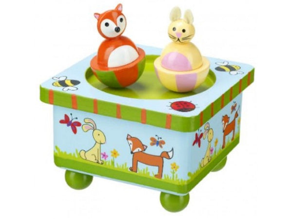 Orange tree toys woodland friends music box