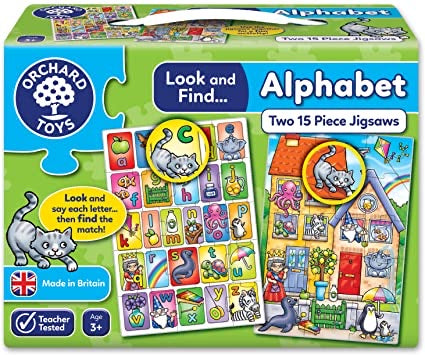 Orchard toys look and find alphabet
