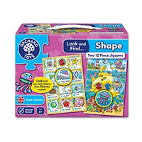 Orchard toys look and find shape jigsaw