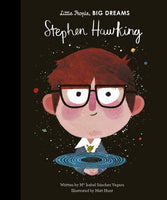 Little people, big dreams Stephen Hawking hardback book