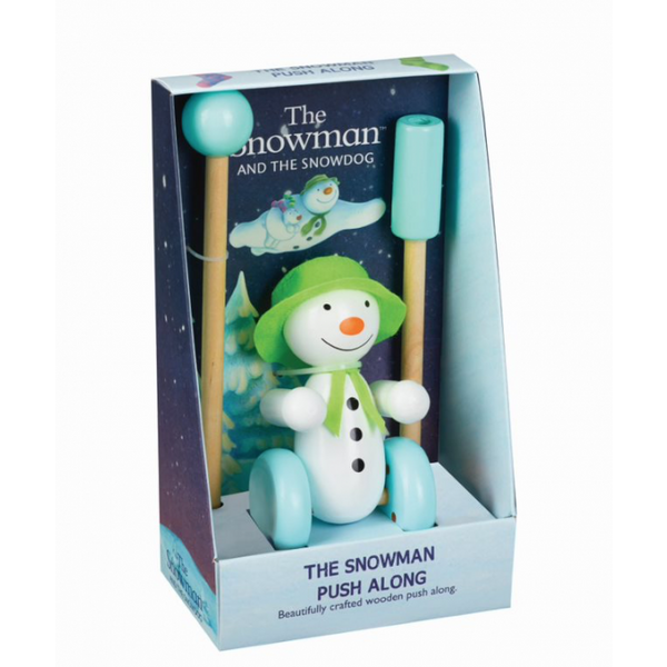 Orange tree toys the snowman boxed pushalong