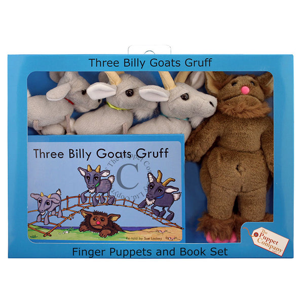 Traditional story sets - the three billy goats