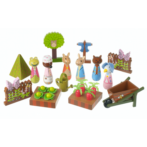 Orange tree toys Peter rabbit playset