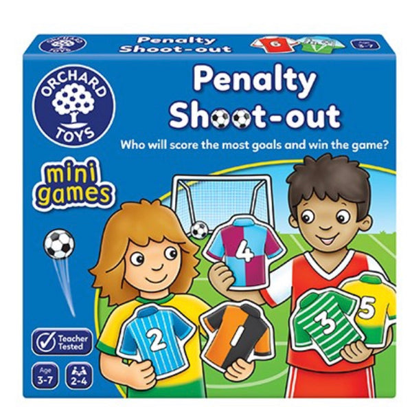 Orchard toys games penalty shoot out
