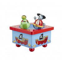 Orange tree toys pirate music box