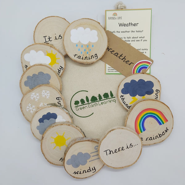 Green Earth Learning  weather set