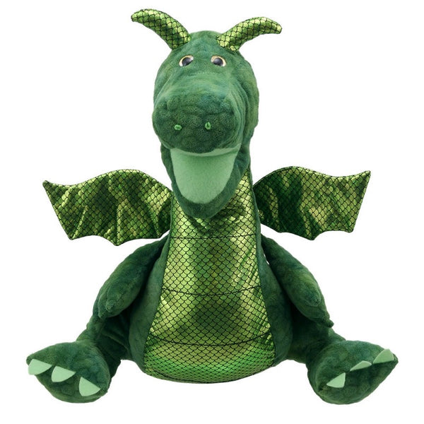 The puppet company enchanted green dragon puppet