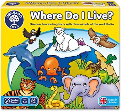 Orchard toys where do I live