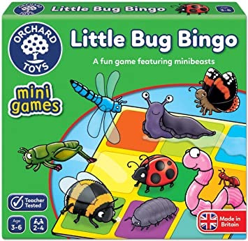 Orchard toys mini game little bug bingo