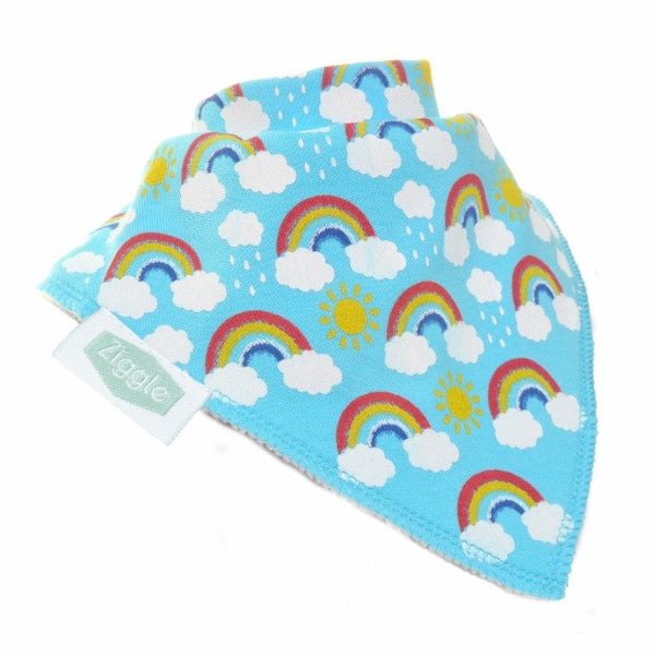 Ziggle rainbows bib