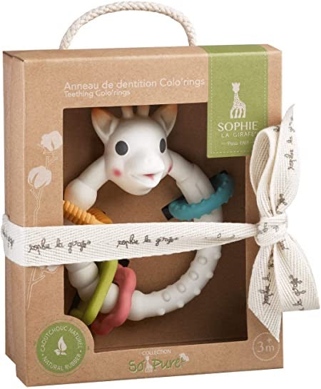 Sophie la Girafe so pure multi textured teether
