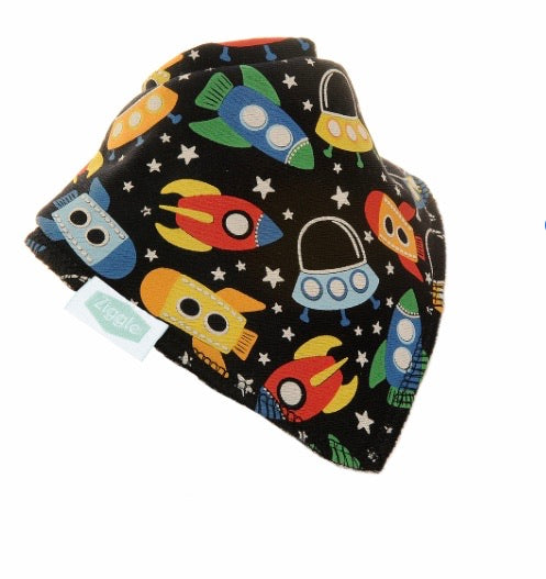 Ziggle outer space bib