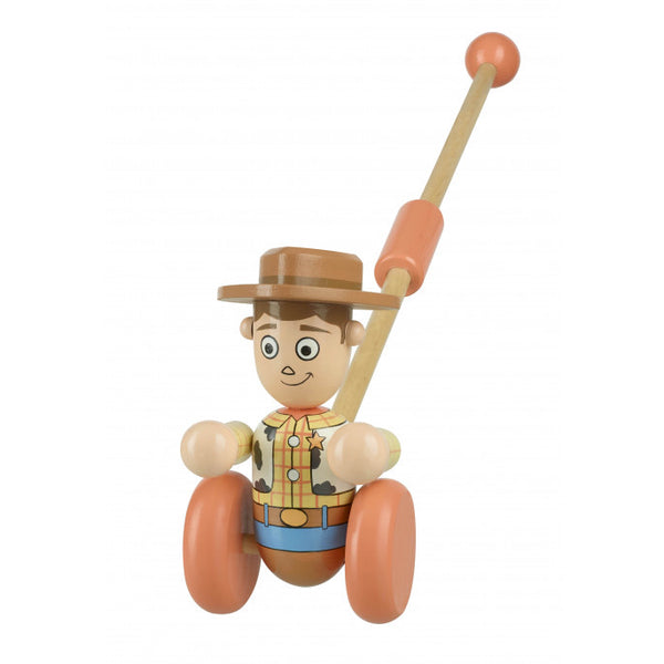 Orange tree toys woody boxed pushalong