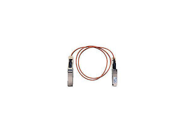 Cisco Direct-Attach Active Optical Cable - network cable - 1 m - beige