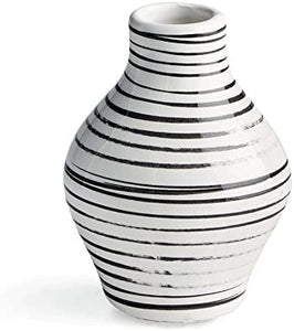 Enzo Striped Vase